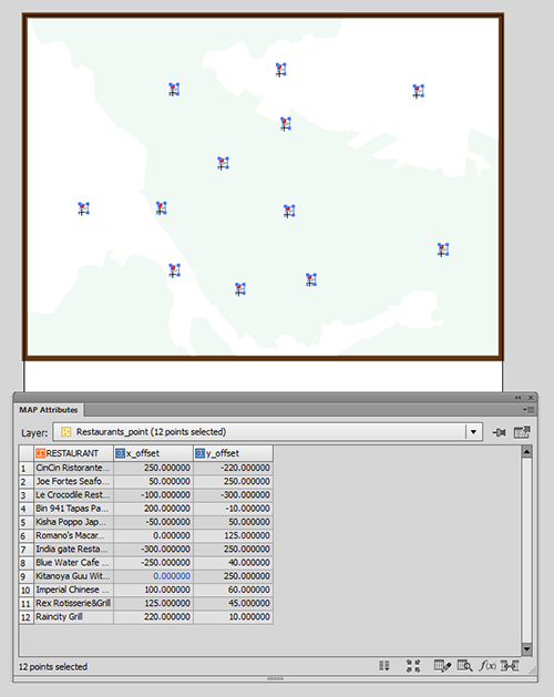 An example map with offset attributes (x_offset and y_offset)